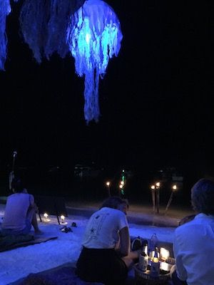 Bar in Nacht