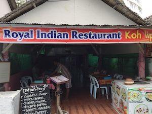 Indisches Restaurant in Walking Street